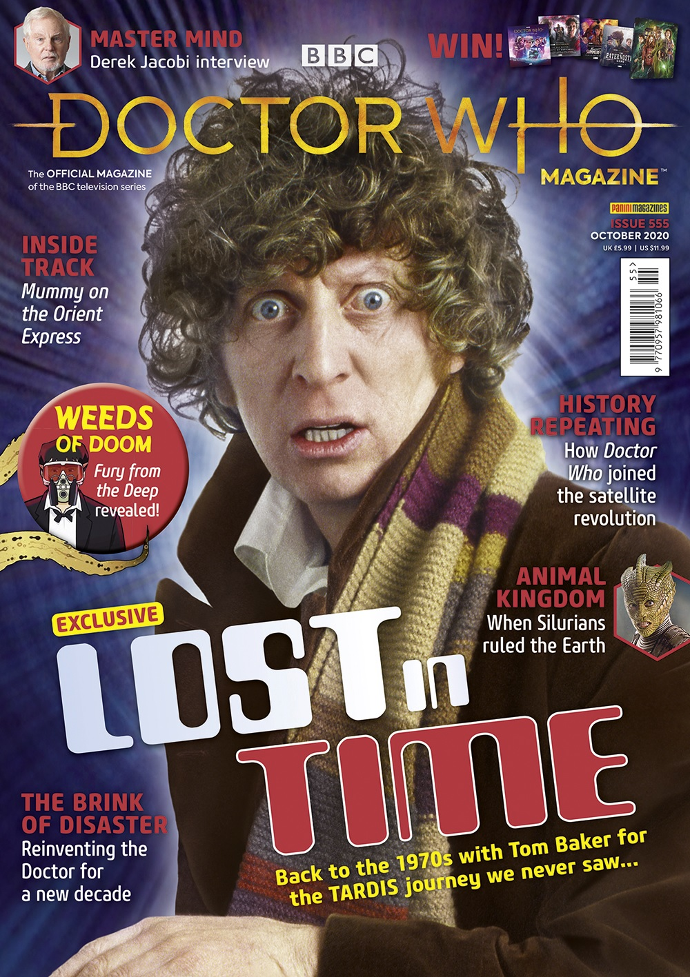 Out Now: Doctor Who Magazine #555