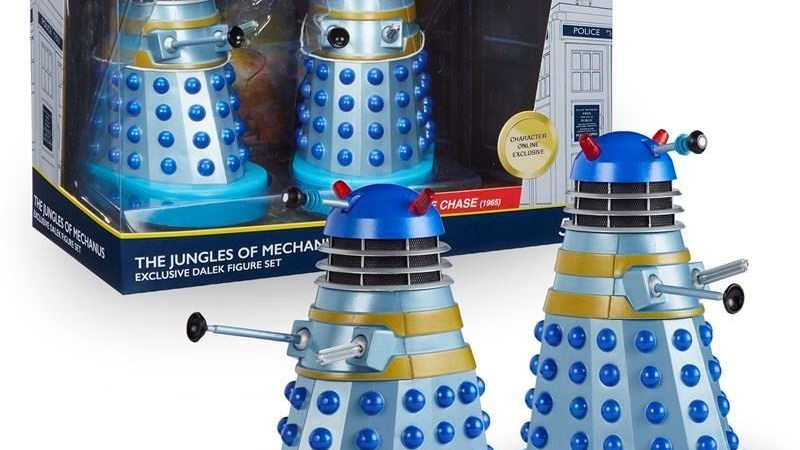 Available Now: The Chase Daleks (Modelled on the Peter Cushing Movies)