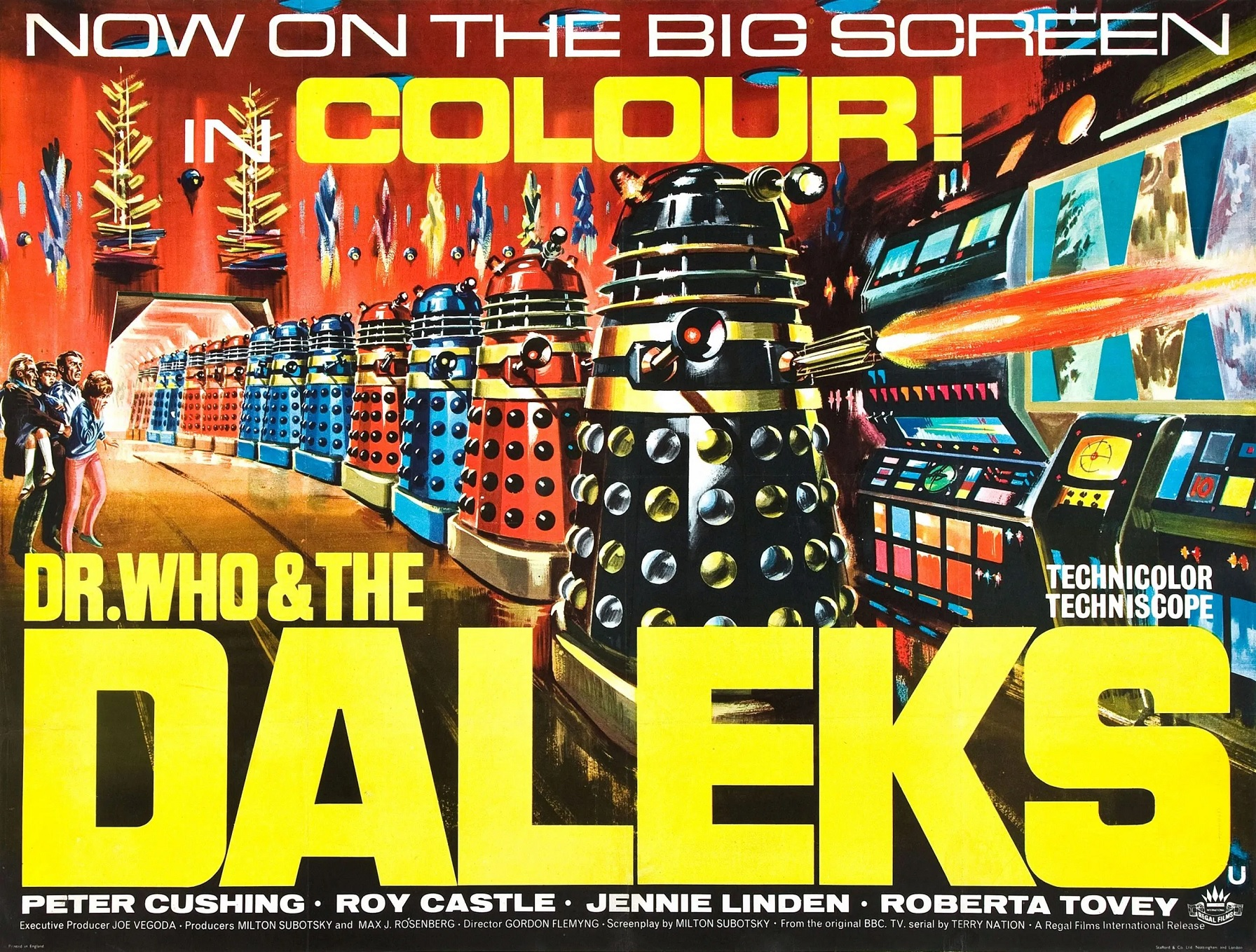 Available to Watch From Today: Peter Cushing's Doctor Who Dalek Movies Are Now On Britbox