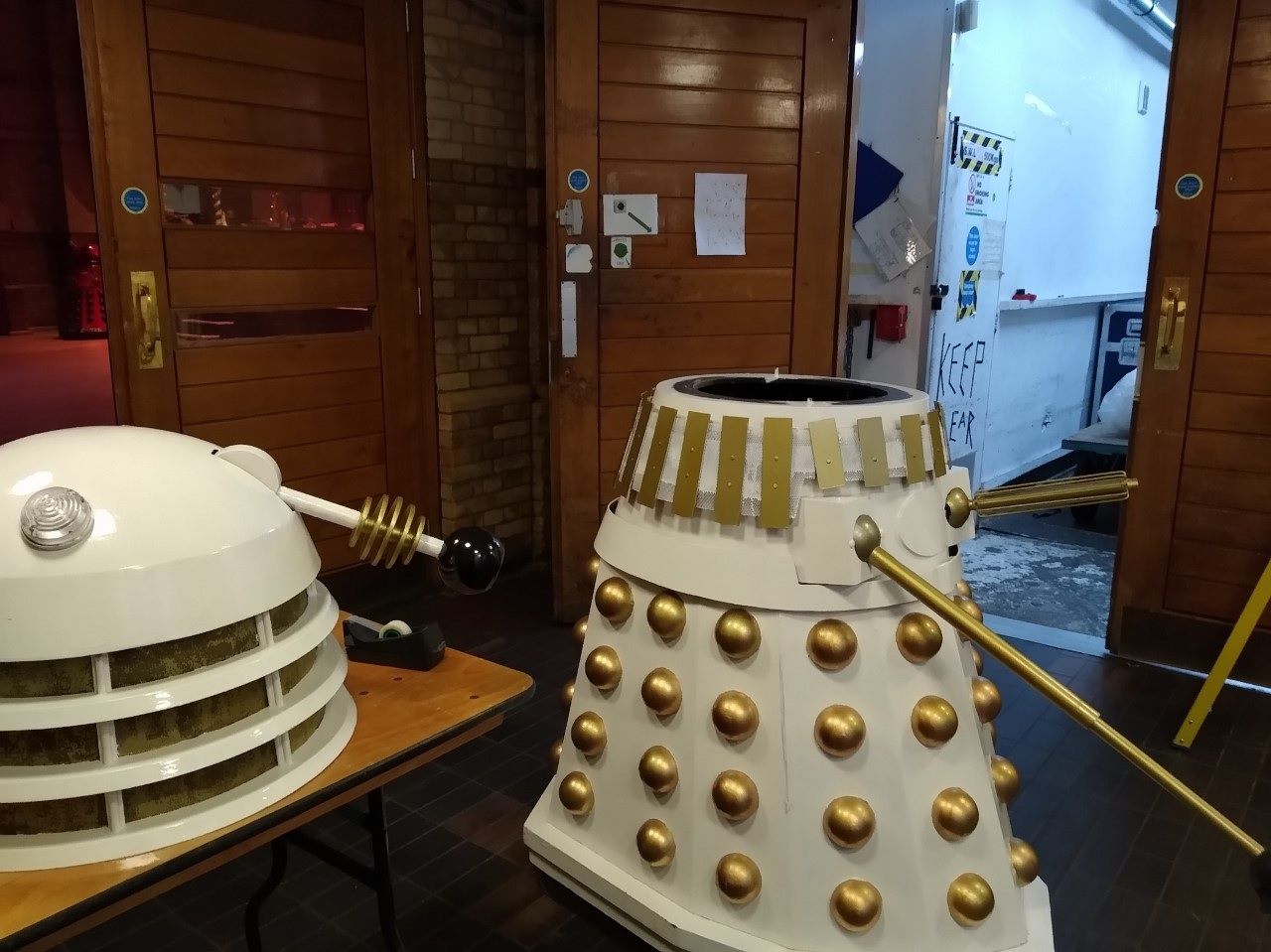 One Man, Two Daleks: What It's Like Making and Sitting Inside a Dalek for Doctor Who Events