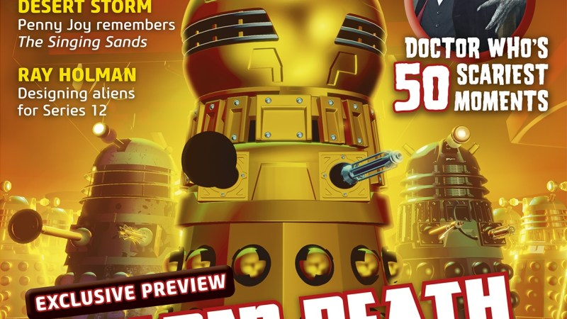 Out Now: Doctor Who Magazine #557, Including an Exclusive Preview of Daleks!