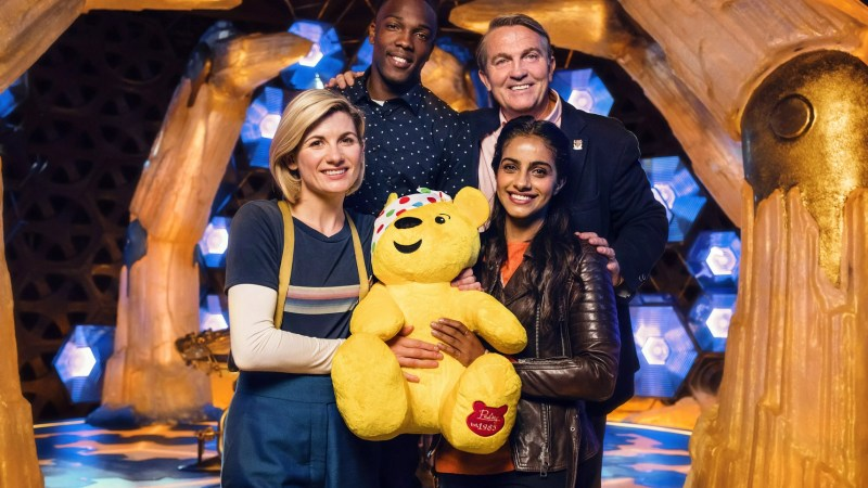 Support Children in Need and Enter to Win a VIP Tour of the Doctor Who Set