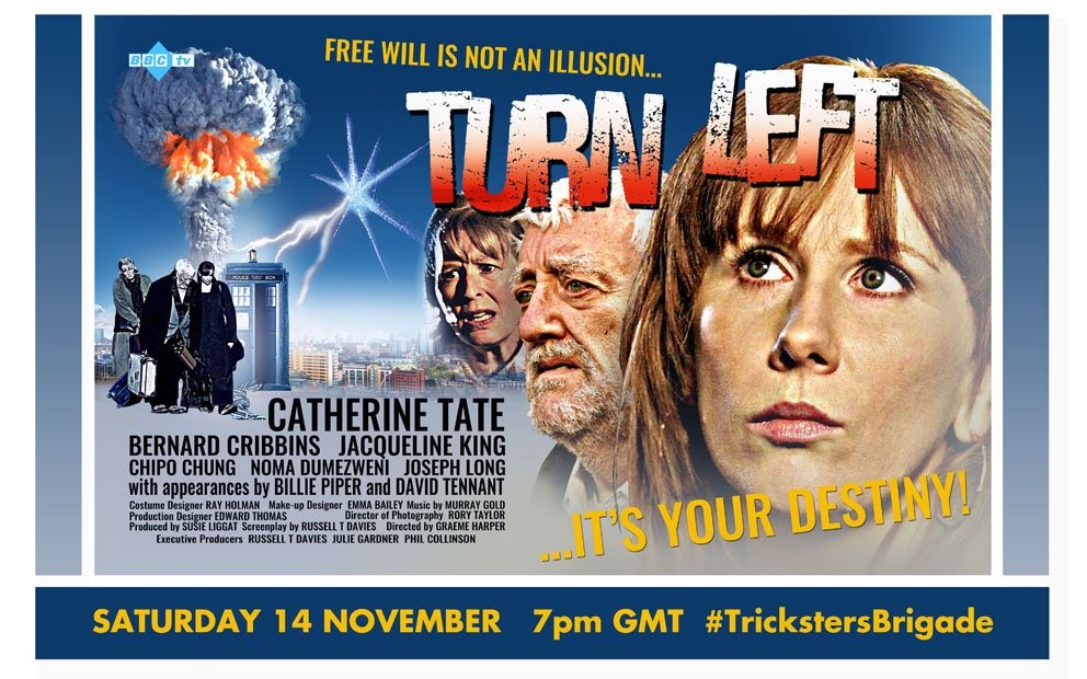 Tomorrow's Doctor Who Tweet-Along Rewatch is the Series 4 Classic, Turn Left