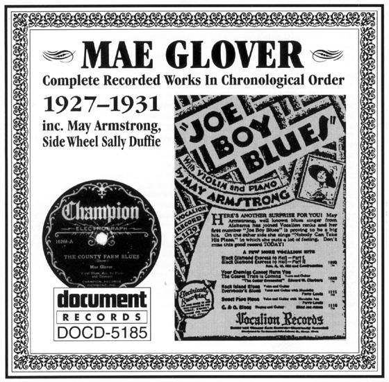 Image result for mae glover blues singer