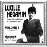 DOCD-5419. Lucille Hegamin. Complete Recorded Works in Chronological Order . Vol.1 (1920-1922)