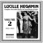DOCD-5420 Lucille Hegamin - Complete Recorded Works 1920 - 1932 Vol. 2 (1922-1923)
