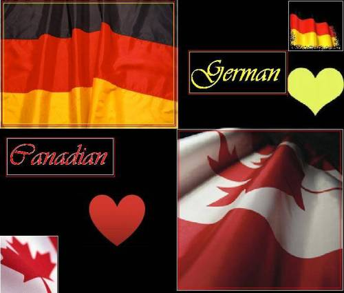 German Canadian heart