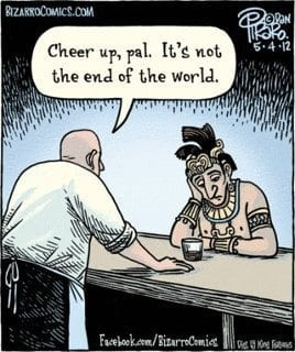 A Mayan walks into a bar...
