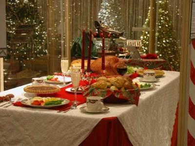 christmas season dinner