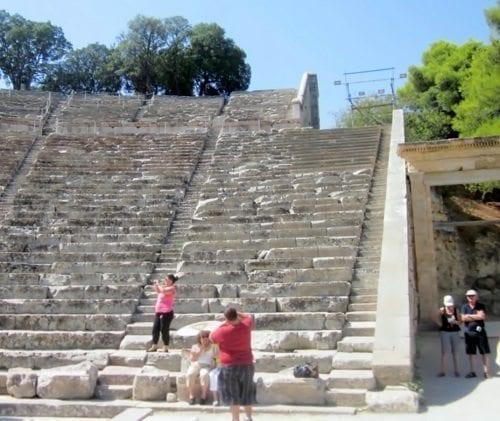 epidaurus steps