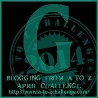 #AtoZChallenge follow me on Twitter @DebbieDoglady