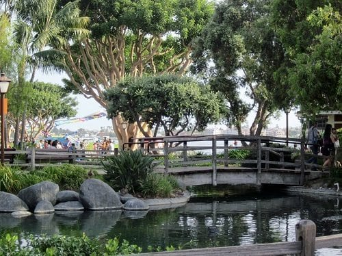 """""""Seaport Village"""" in San Diego. Photo Friday, """"Green"""""""