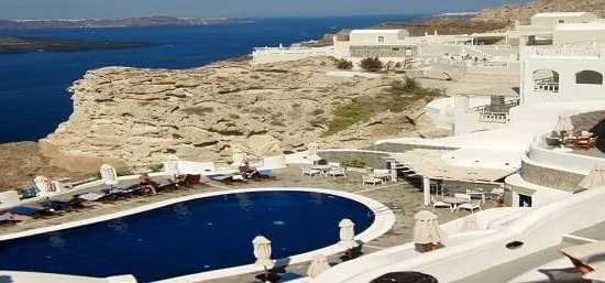 santorini hotel view