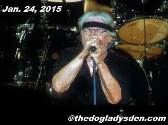 Bob Seger in Toronto, Jan, 24, 2015