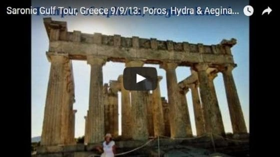 Saronic Gulf Tour Video
