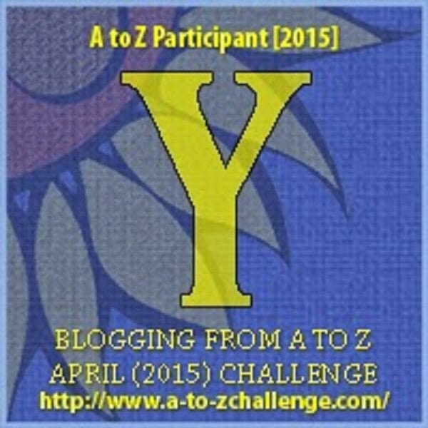 #AtoZChallenge - Y is for