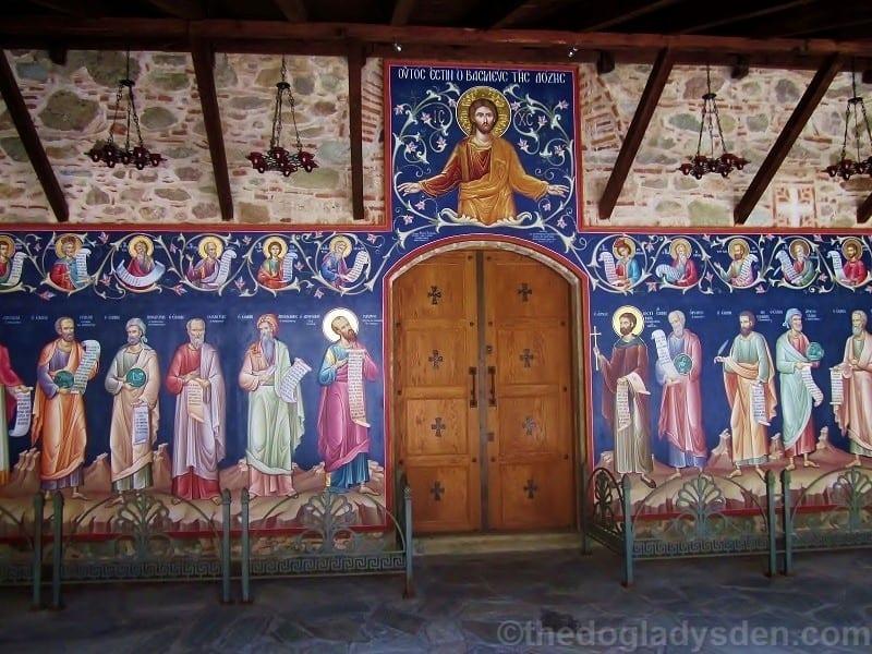 Frescoes, Holy Trinity chapel, Meteora