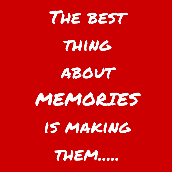 make some memories to savour! the doglady's den