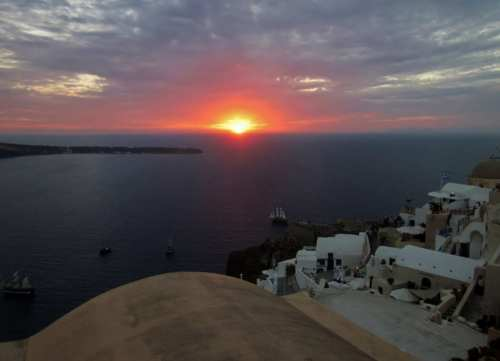 End of Day - Santorini