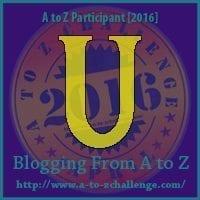 #AtoZChallenge Day 21: U is for UNCONDITIONAL LOVE