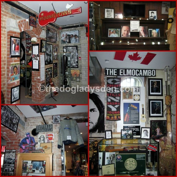Happenings and Holidays: Youngtown Museum display, Lindsay, Ontario
