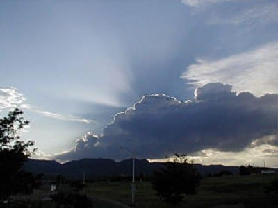 cloud with silver lining. The Power of Gratitude | #FlashbackFriday