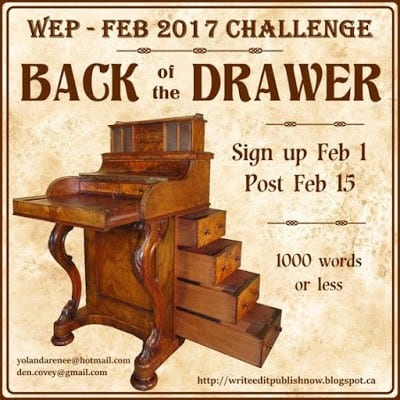 The Letter   Back of the Drawer   WEP Challenge, Feb. 2017