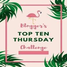 #TopTenThursday LOGO BUCKET LIST