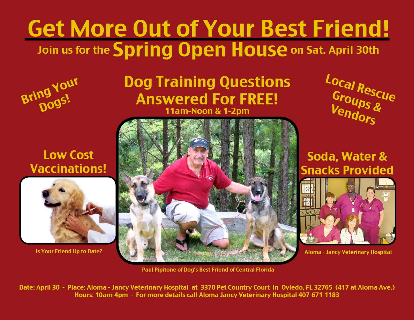 Training Event by Dog's Best Friend of Central Florida