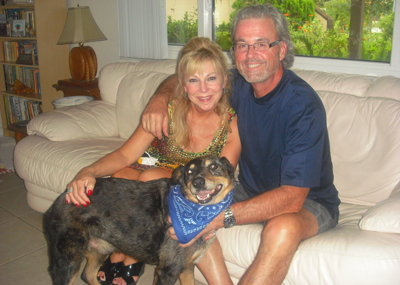 Fonzie, the Australian Cattle Dog (Blue Heeler) ~ Adopted