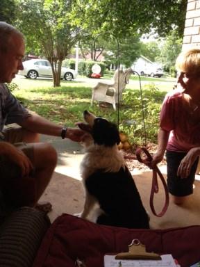 John & Debbie Adopting Maggie