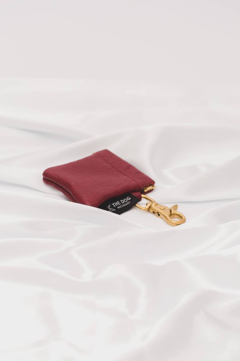 The Dog Musthaves - Treatbag Burgundy