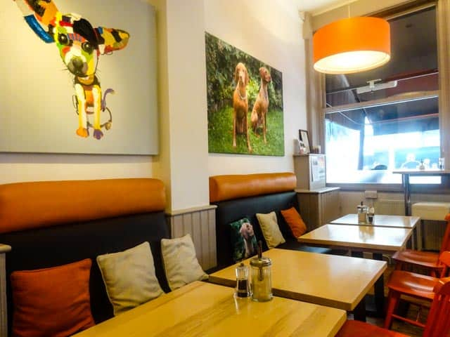Cafe Tamra Clapham: Dog Friendly Cafes in London