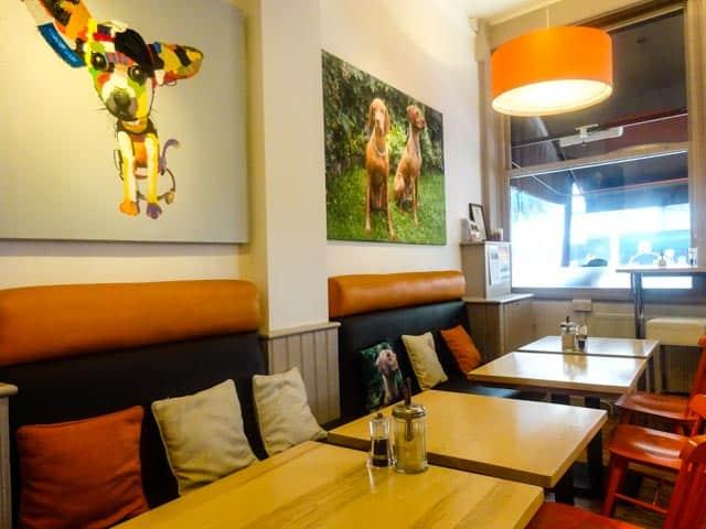 Dog Friendly London Cafes - Cafe Tamra