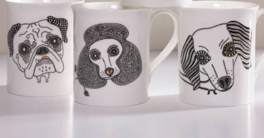 Alpenfraulein Dog Mugs Review and Giveaway