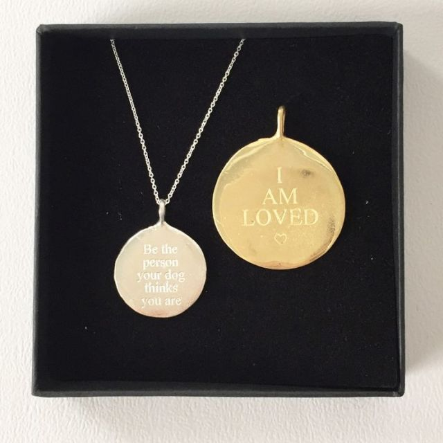 Fetch & Follow Necklace & Dog Tag - Christmas Gifts For Dog Lovers