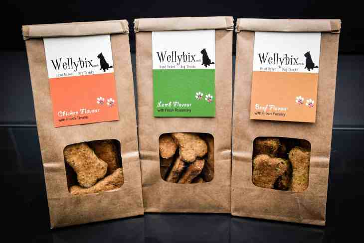 Wellybix Dog Biscuits