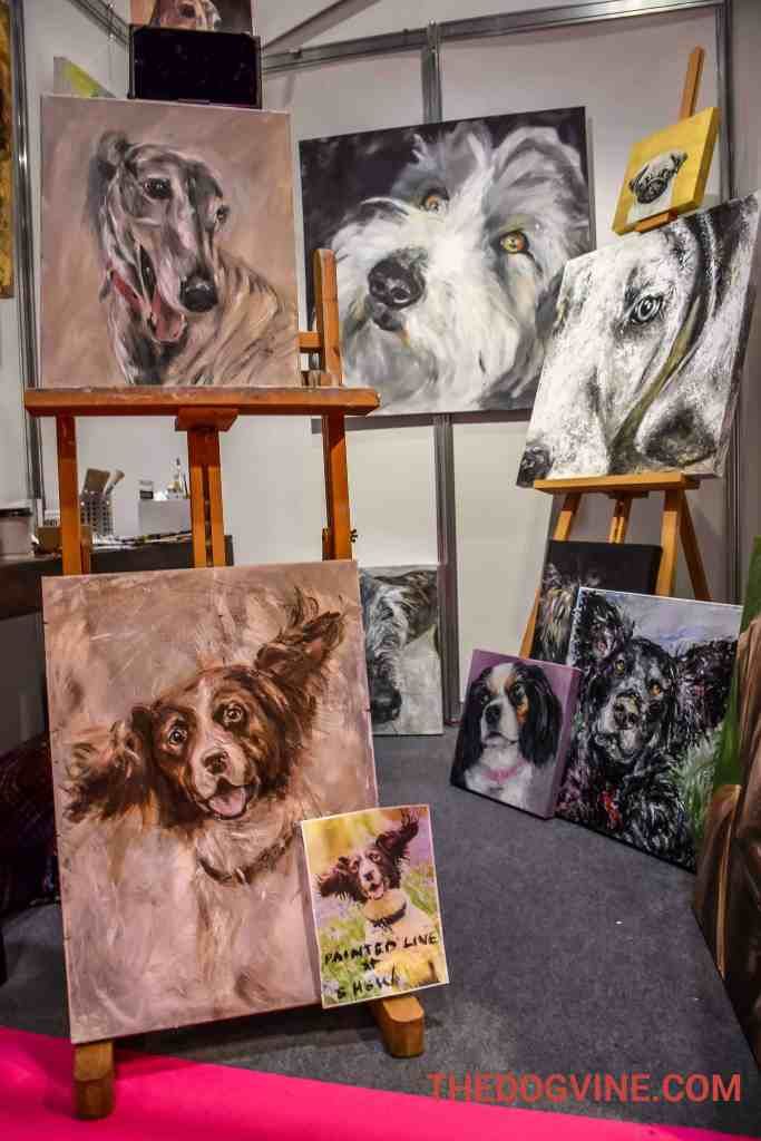 Discover Dogs 2016 - Claire Thorogood Art
