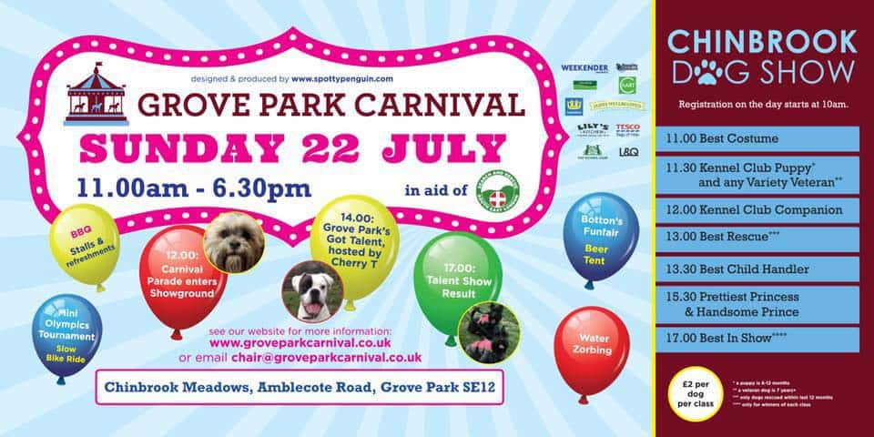 Grove Park Carnival & Chinbrook Dog Show 2