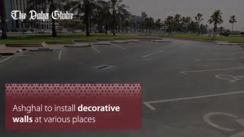 Ashghal to install decorative walls at various places