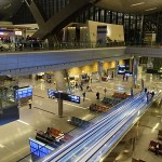 Some flights diverted from Doha airport on Monday