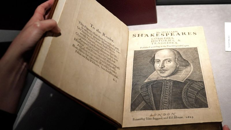 First collection of Shakespeare's plays sell for  $10m at auction