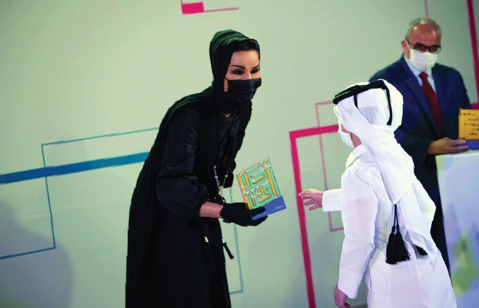 Sheikha Moza crowns winners of Akhlaquna Award