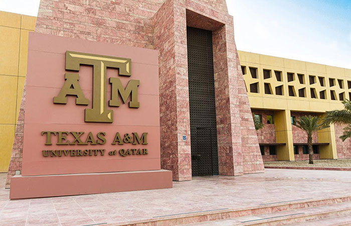 Forty-seven Texas A&M Qatar students receive their Aggie Rings