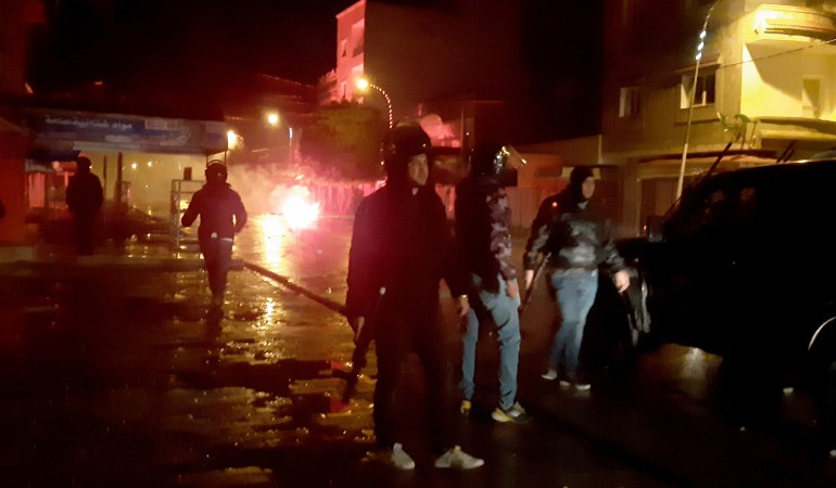Hundreds of youths clash with police in Tunisia