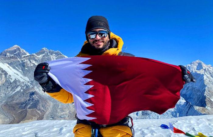 Qatari adventurer climbs Ama Dablam summit in harshest climatic conditions