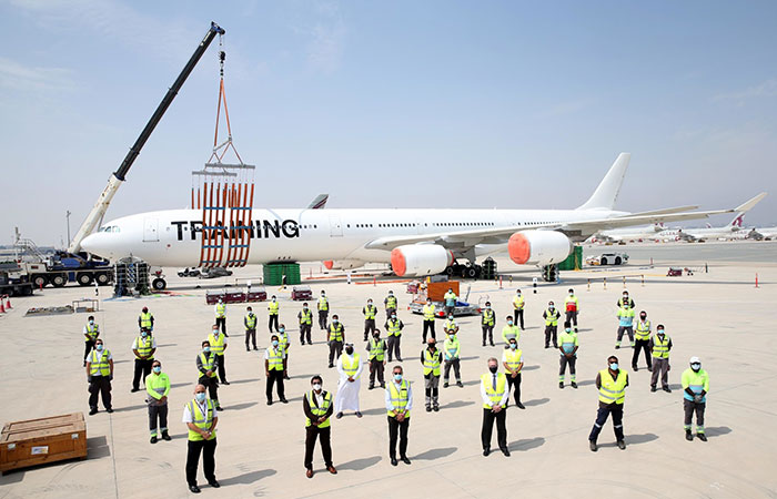 Qatar Airways holds 12th annual simulated Disabled Aircraft Recovery exercise