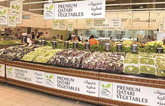 Sales of Qatari vegetables rise in March