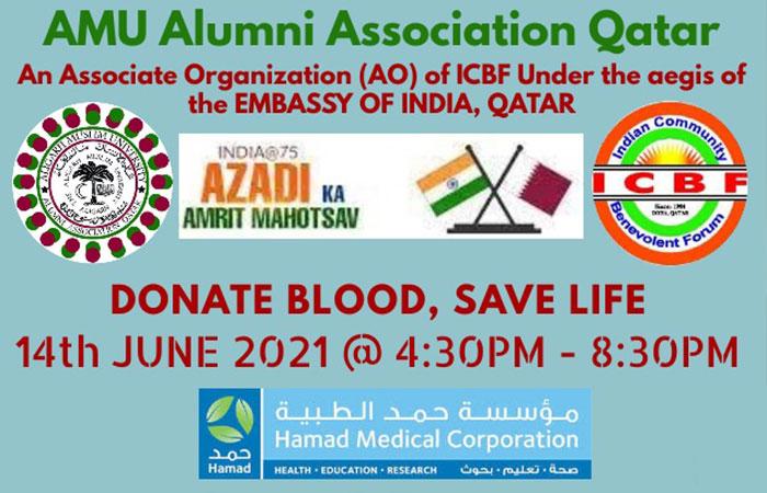 AMU alumni to organise blood donation drive on 14 June
