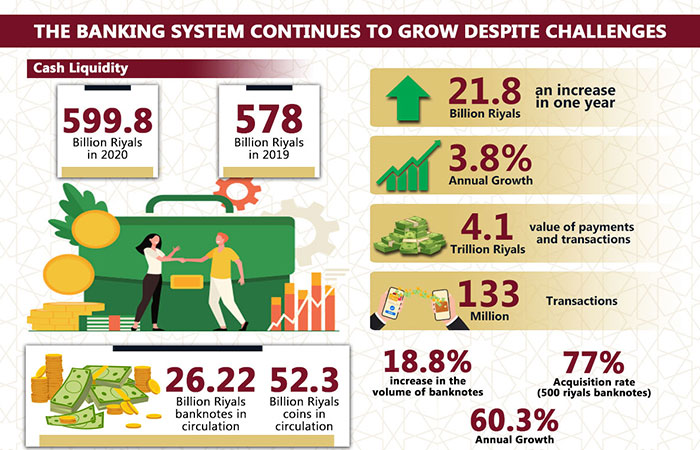 The banking system continues to grow despite challenges